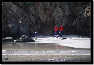 Family-on-Beach