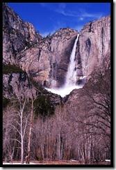 Yosemte-Wasserfall