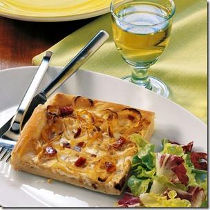 Ferderweißer & Zwiebelkuchen