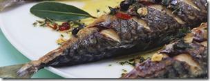 Marinierte Makrelen