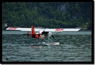 Wasserflugzeug-rot