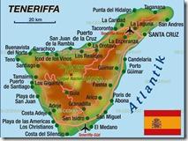 Teneriffa-Karte