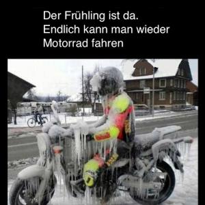 Eis-Biker