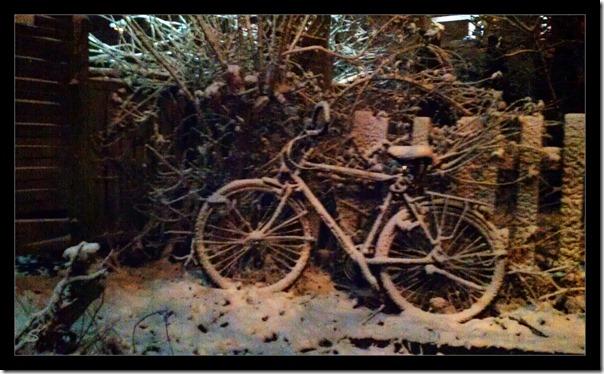 Schneefahrrad