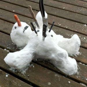Winter getötet