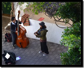 Straßenmusikerinnen